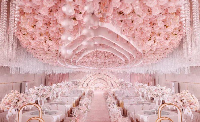 婚礼堂发布:4大主题宴会厅!西南首家庄园式婚礼堂  第19张