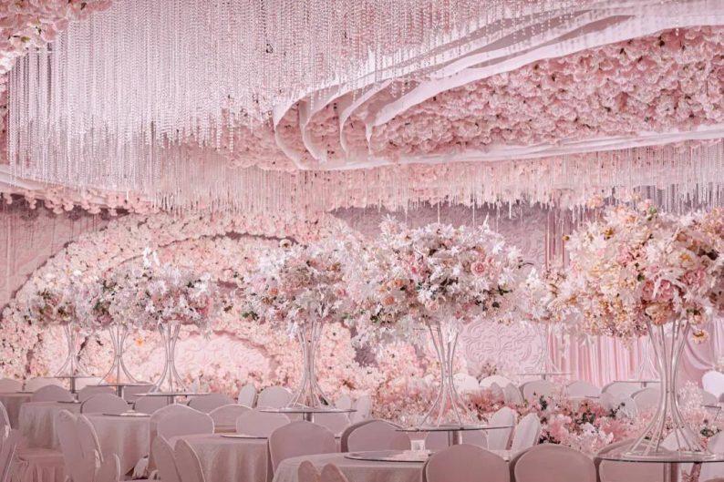 婚礼堂发布:4大主题宴会厅!西南首家庄园式婚礼堂  第20张