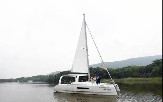 南京首家户外帆船婚礼基地,起航!  第1张