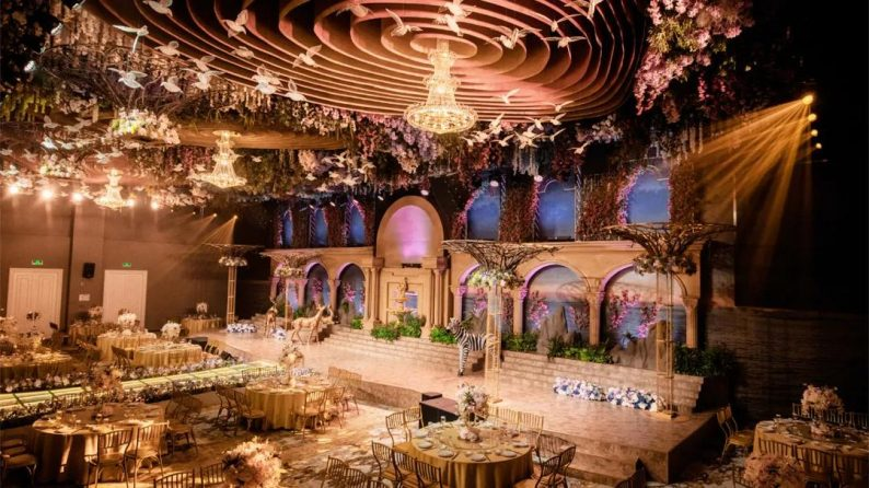 婚礼堂发布:徐丹参与设计!纽宾凯旗下9大主题宴会厅  第2张