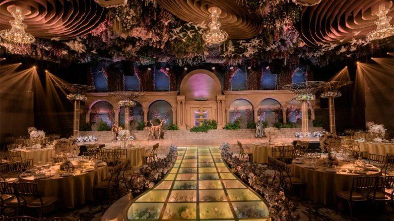 婚礼堂发布:徐丹参与设计!纽宾凯旗下9大主题宴会厅  第3张