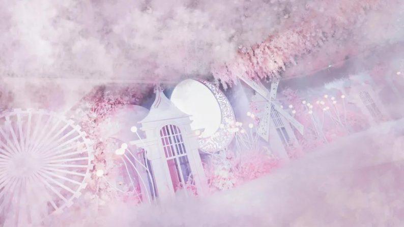婚礼堂发布:徐丹参与设计!纽宾凯旗下9大主题宴会厅  第6张