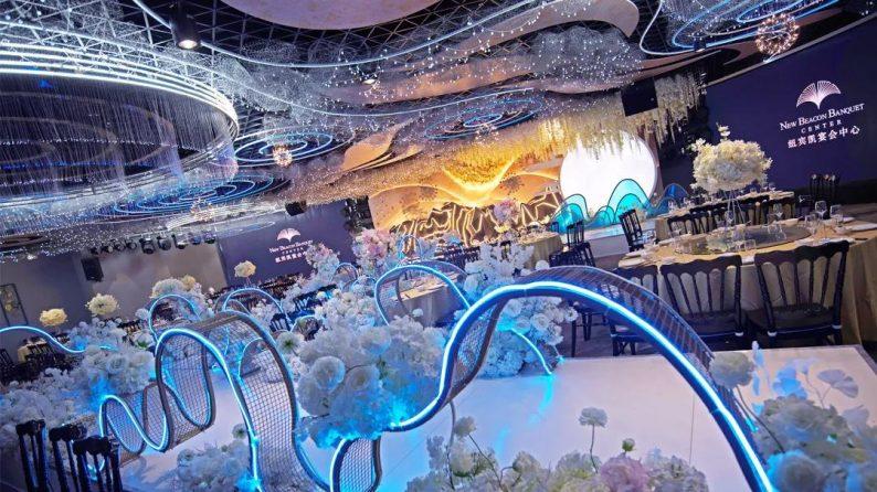 婚礼堂发布:徐丹参与设计!纽宾凯旗下9大主题宴会厅  第7张