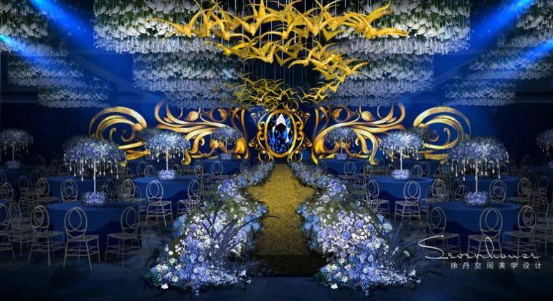 婚礼堂发布:徐丹参与设计!纽宾凯旗下9大主题宴会厅  第10张