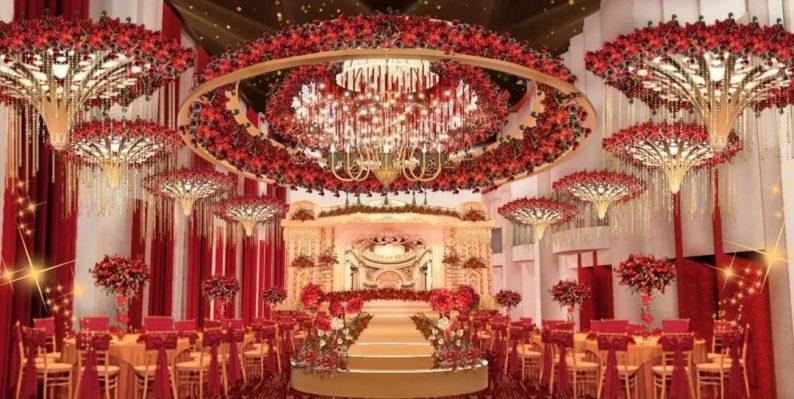 婚礼堂发布:徐丹参与设计!纽宾凯旗下9大主题宴会厅  第18张