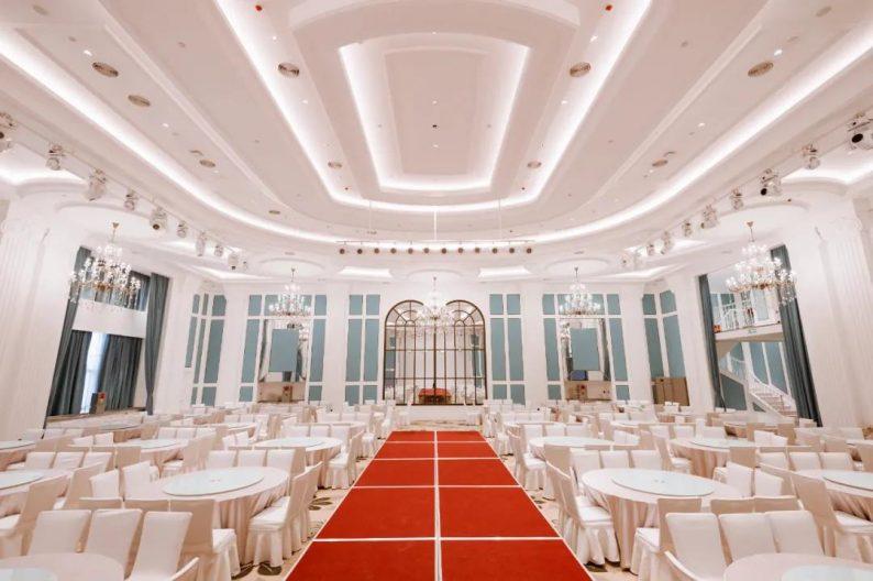 婚礼堂发布:江苏宴会酒店新地标来了!赖梓愈、阿龙鼎力之作  第38张