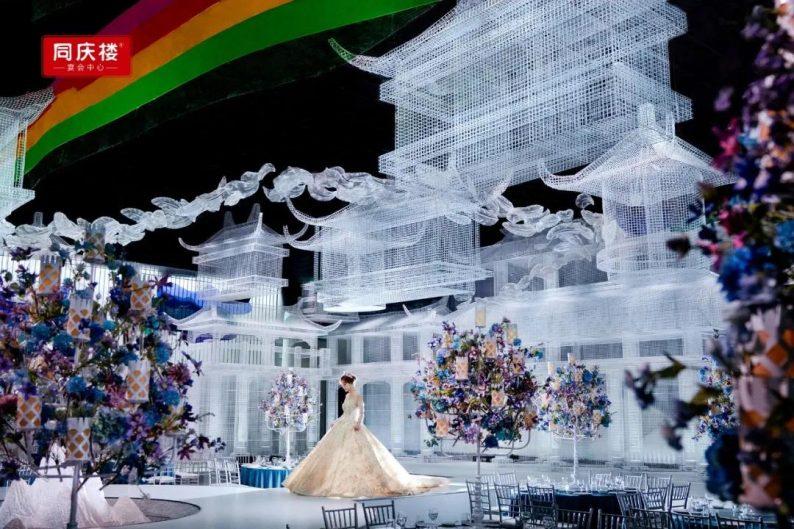 婚礼堂发布:同庆楼宴会中心·银湖店,宴会厅首度亮相!  第3张