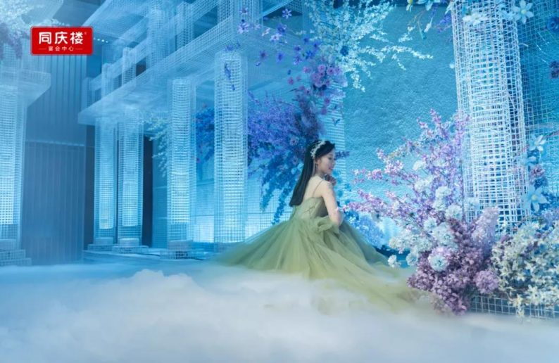 婚礼堂发布:同庆楼宴会中心·银湖店,宴会厅首度亮相!  第4张