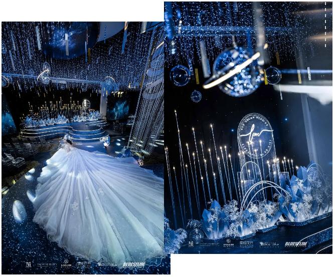 婚礼堂发布:6个主题厅,浙江嘉兴6000平国际宴会中心  第3张