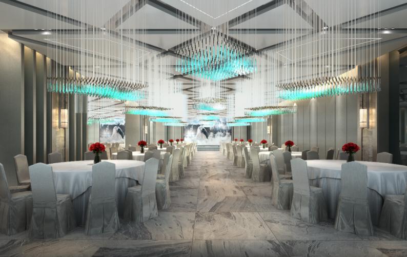 婚礼堂发布:4大多功能厅!大型商业综合体内宴会中心  第14张