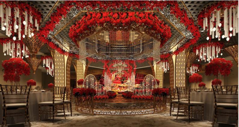 婚礼堂发布:耗资千万!武汉开元大酒店合禧宴会中心  第7张