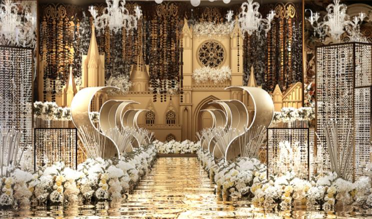 婚礼堂发布:耗资千万!武汉开元大酒店合禧宴会中心  第16张