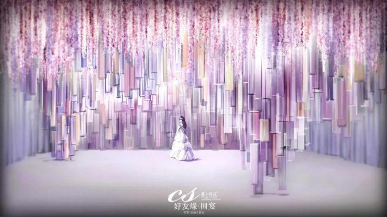 婚礼堂发布:两度携手蔡上!广西地标性餐饮宴会酒店  第31张