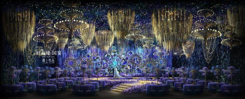 婚礼堂发布:两度携手蔡上!广西地标性餐饮宴会酒店  第37张