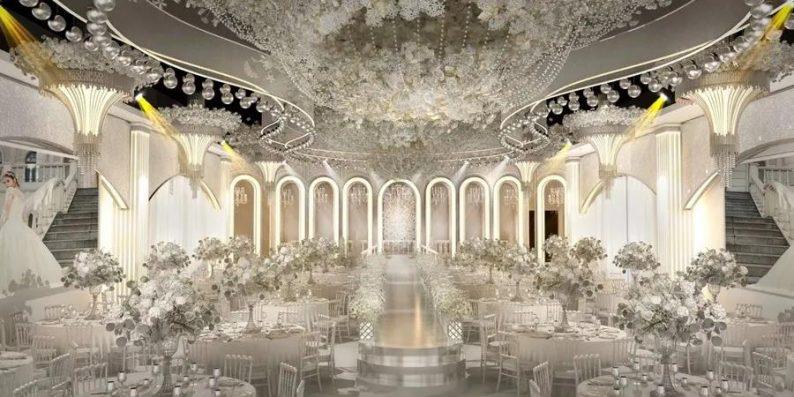 婚礼堂发布:6大宴会厅!衡阳5000㎡艺术级宴会中心  第4张