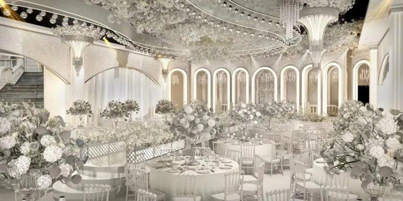 婚礼堂发布:6大宴会厅!衡阳5000㎡艺术级宴会中心  第5张