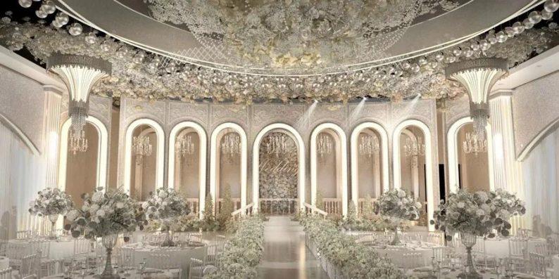 婚礼堂发布:6大宴会厅!衡阳5000㎡艺术级宴会中心  第6张