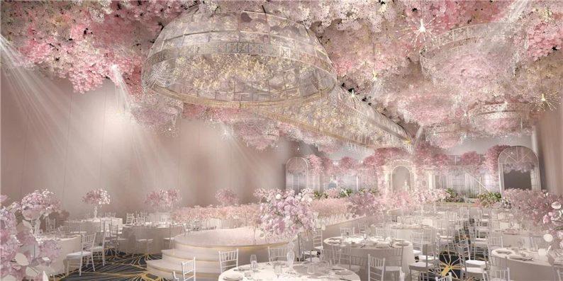 婚礼堂发布:6大宴会厅!衡阳5000㎡艺术级宴会中心  第7张