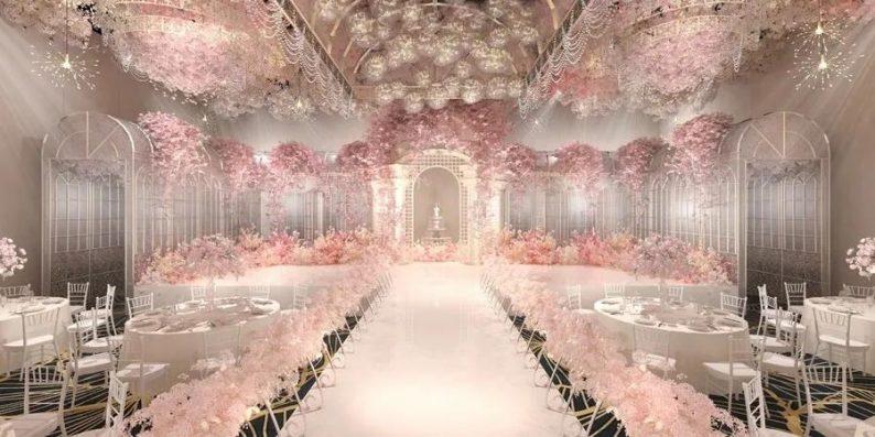 婚礼堂发布:6大宴会厅!衡阳5000㎡艺术级宴会中心  第8张
