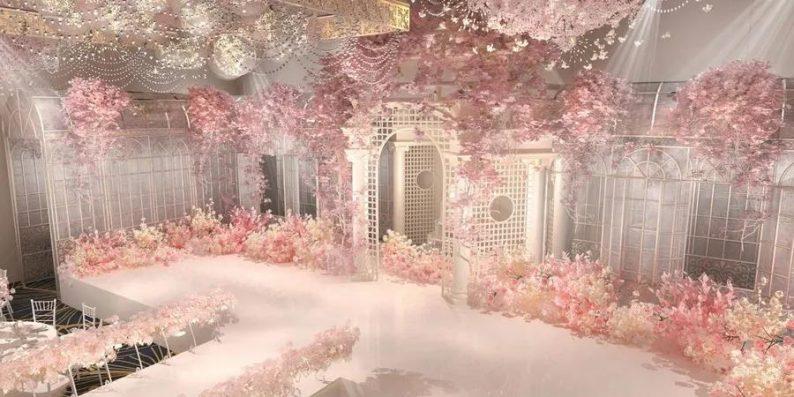 婚礼堂发布:6大宴会厅!衡阳5000㎡艺术级宴会中心  第10张