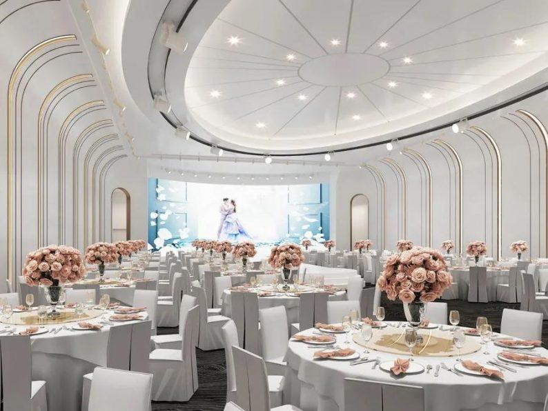 婚礼堂发布:6大宴会厅!衡阳5000㎡艺术级宴会中心  第11张