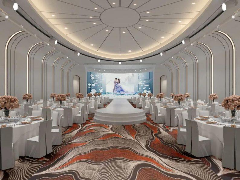 婚礼堂发布:6大宴会厅!衡阳5000㎡艺术级宴会中心  第12张