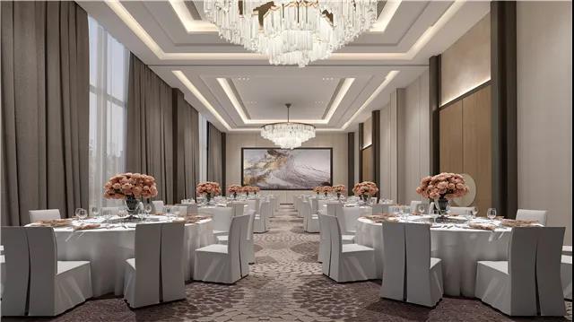 婚礼堂发布:6大宴会厅!衡阳5000㎡艺术级宴会中心  第13张