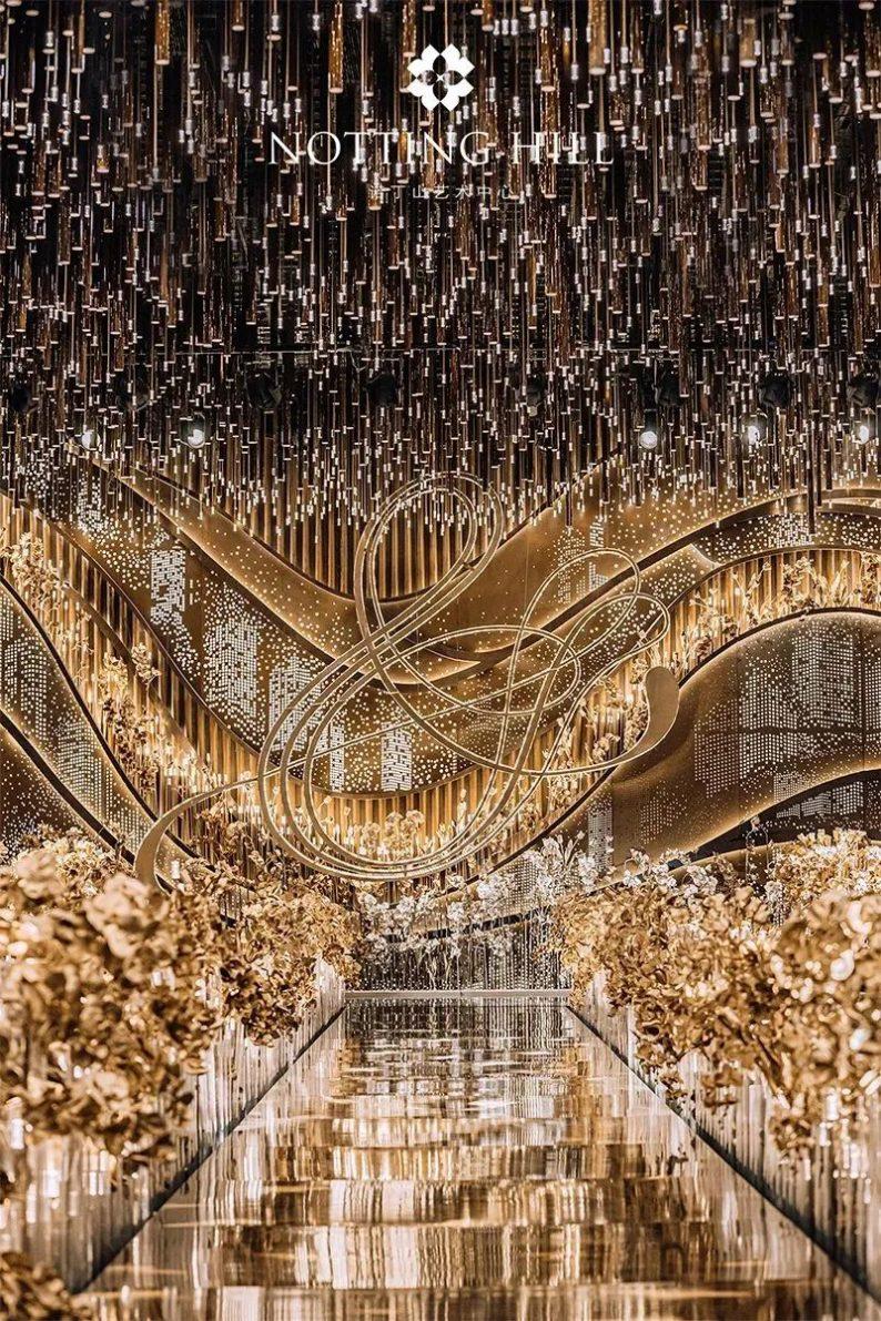 全国6大门店!诺丁山艺术中心近30个百万级宴会厅  第79张