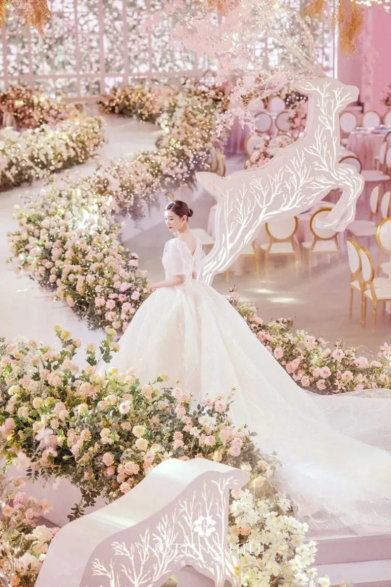 婚礼堂发布:游乐园+艺术婚礼!南通诺丁山艺术中心亮相  第24张