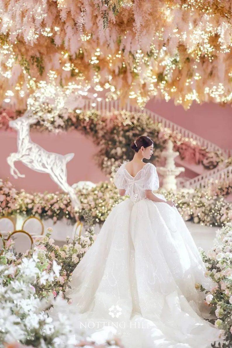 婚礼堂发布:游乐园+艺术婚礼!南通诺丁山艺术中心亮相  第27张