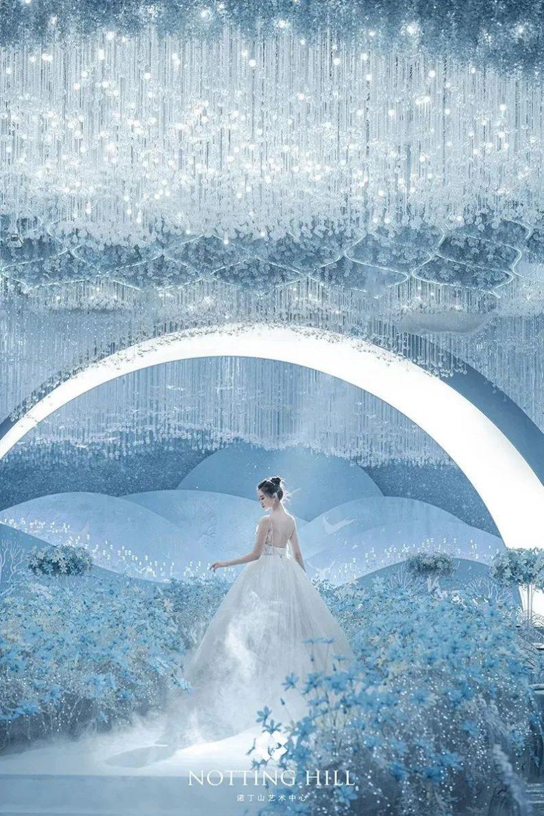 婚礼堂发布:游乐园+艺术婚礼!南通诺丁山艺术中心亮相  第30张