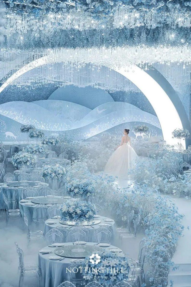 婚礼堂发布:游乐园+艺术婚礼!南通诺丁山艺术中心亮相  第32张