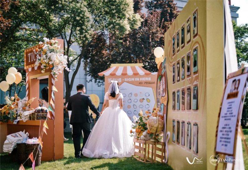 户外婚礼8个创意小游戏!  第11张