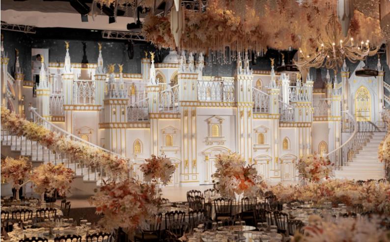 婚礼堂发布:餐饮航母+婚礼堂!打造华中区最大规模宴会厅  第3张