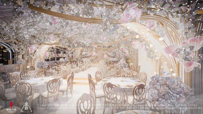 婚礼堂发布:餐饮航母+婚礼堂!打造华中区最大规模宴会厅  第5张