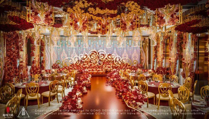 婚礼堂发布:餐饮航母+婚礼堂!打造华中区最大规模宴会厅  第7张