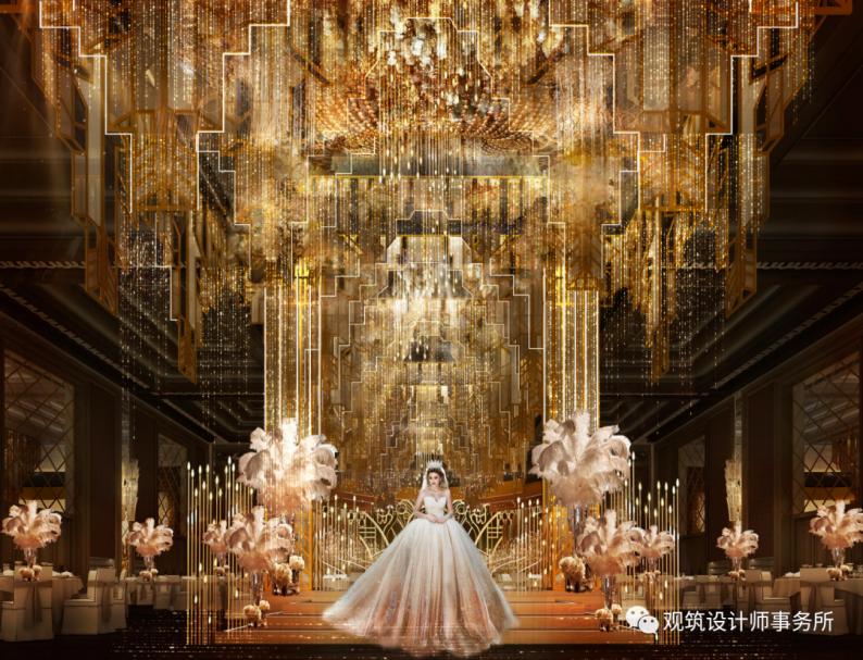 婚礼堂发布:餐饮航母+婚礼堂!打造华中区最大规模宴会厅  第8张