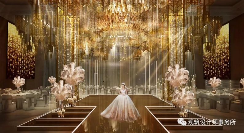 婚礼堂发布:餐饮航母+婚礼堂!打造华中区最大规模宴会厅  第9张