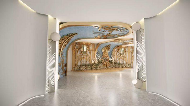 婚礼堂发布:餐饮航母+婚礼堂!打造华中区最大规模宴会厅  第19张