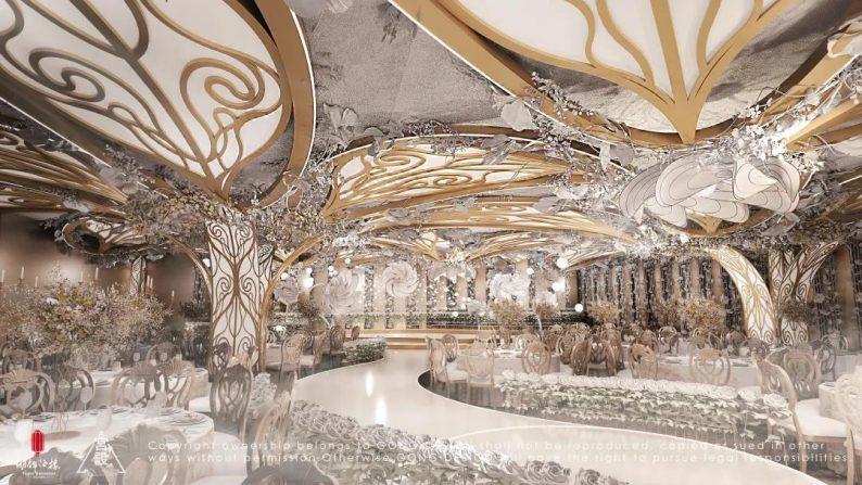 婚礼堂发布:餐饮航母+婚礼堂!打造华中区最大规模宴会厅  第24张