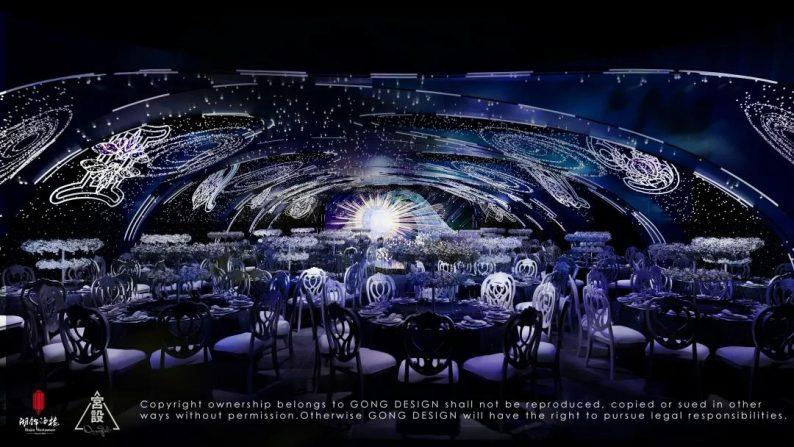婚礼堂发布:餐饮航母+婚礼堂!打造华中区最大规模宴会厅  第26张