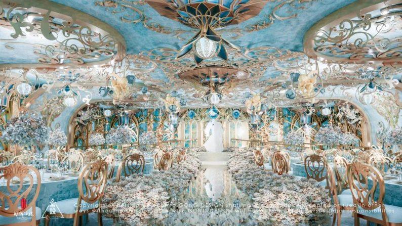 婚礼堂发布:餐饮航母+婚礼堂!打造华中区最大规模宴会厅  第30张