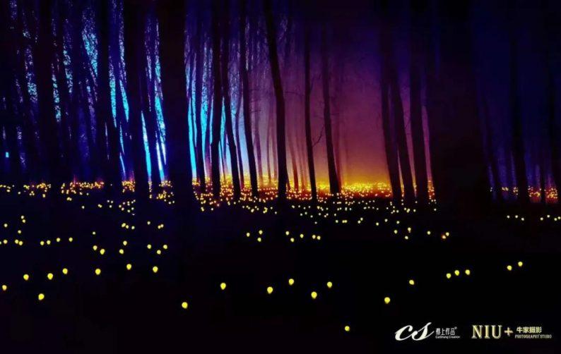灯光艺术节蔡上设计:东方意境,光与影的诗人  第5张