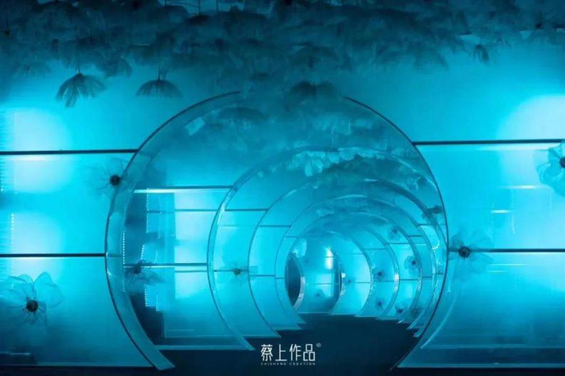 灯光艺术节蔡上设计:东方意境,光与影的诗人  第9张