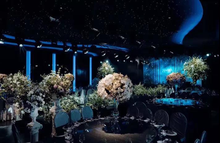 婚礼堂发布:贵阳网红打卡点!喜玛拉雅宴会艺术中心  第4张