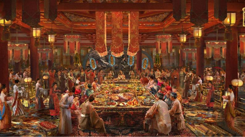 """婚宴新趋势,这家宴会餐厅太燃了,让顾客一秒""""梦回大唐""""!  第4张"""