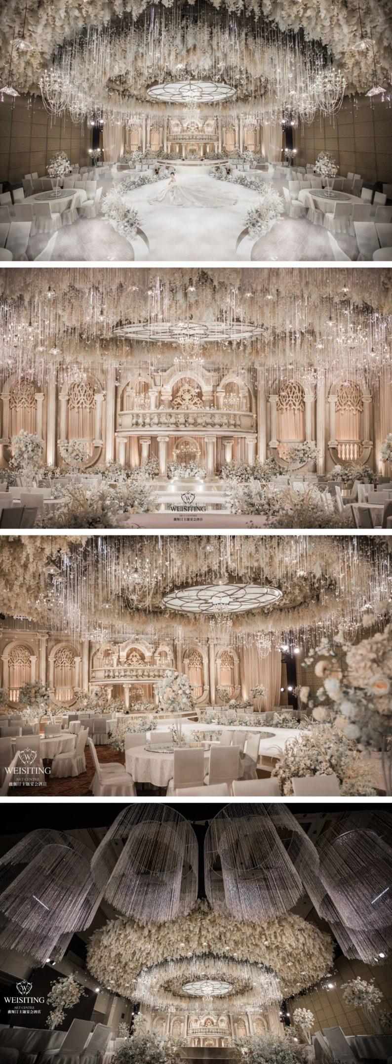 婚礼堂发布:6大宴会厅!1万平超豪华一站式婚礼会馆  第3张