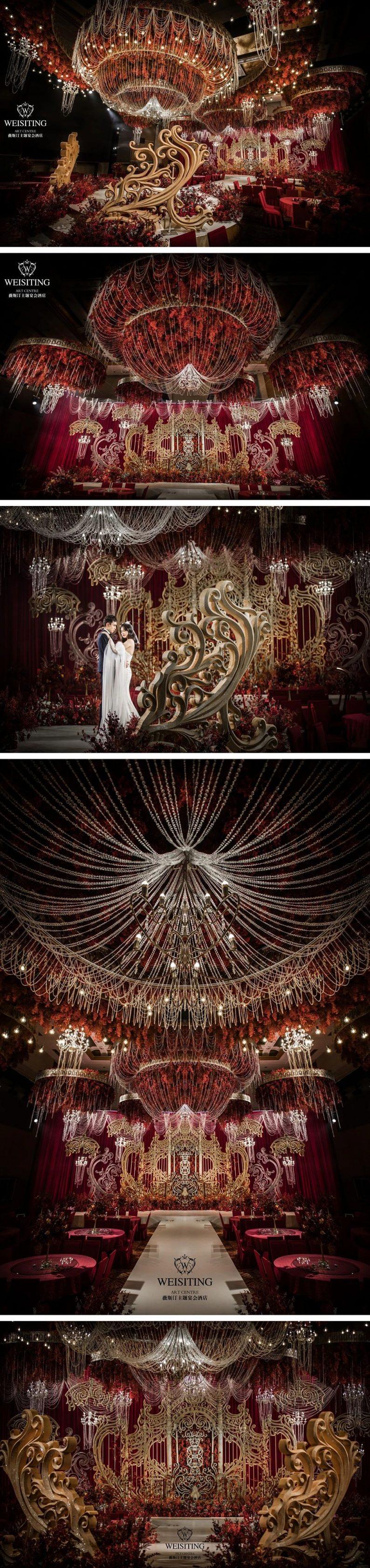 婚礼堂发布:6大宴会厅!1万平超豪华一站式婚礼会馆  第4张