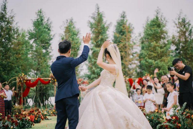 婚礼堂发布:8大场地!华中地区园林式宴会领军者