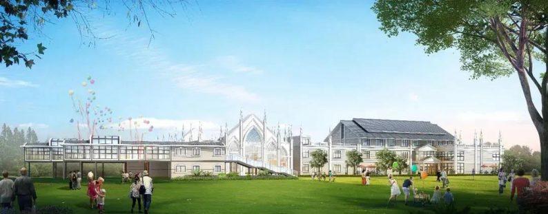 婚礼堂发布:西南婚宴新地标,湖景巴洛克建筑风格  第3张